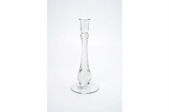 Glass Plain Candle stand
